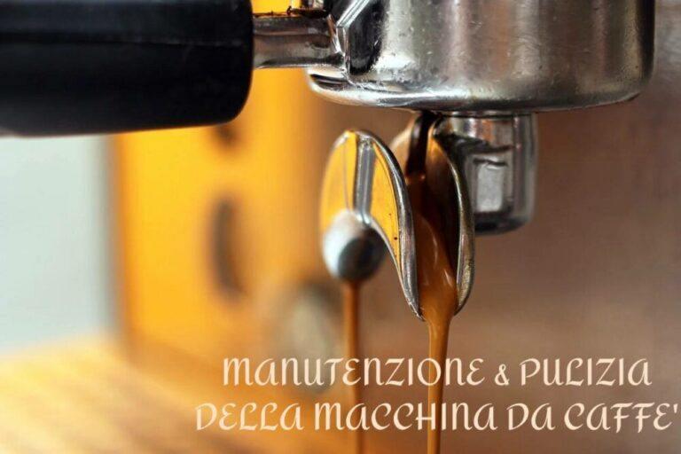 manutenzione macchina da caffè