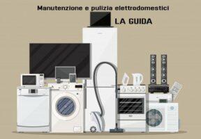 Guida manutenzione e pulizia elettrodomestici