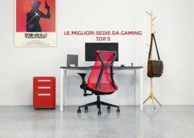 Le 5 migliori sedie da gaming